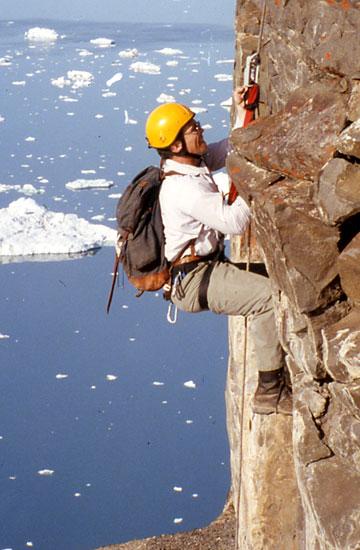 Bill Burnham in Greenland