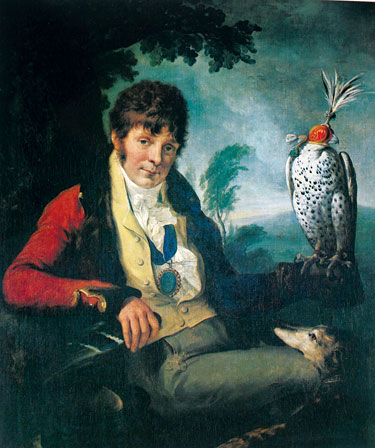 Colonel Thomas Thornton portrait