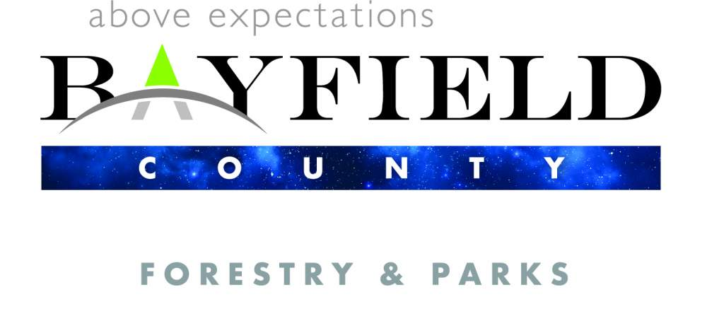 Bayfield County Forestry and Parks logo