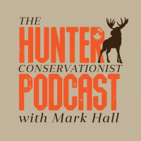 The Hunter Conservationist Podcast with Mark Hall logo