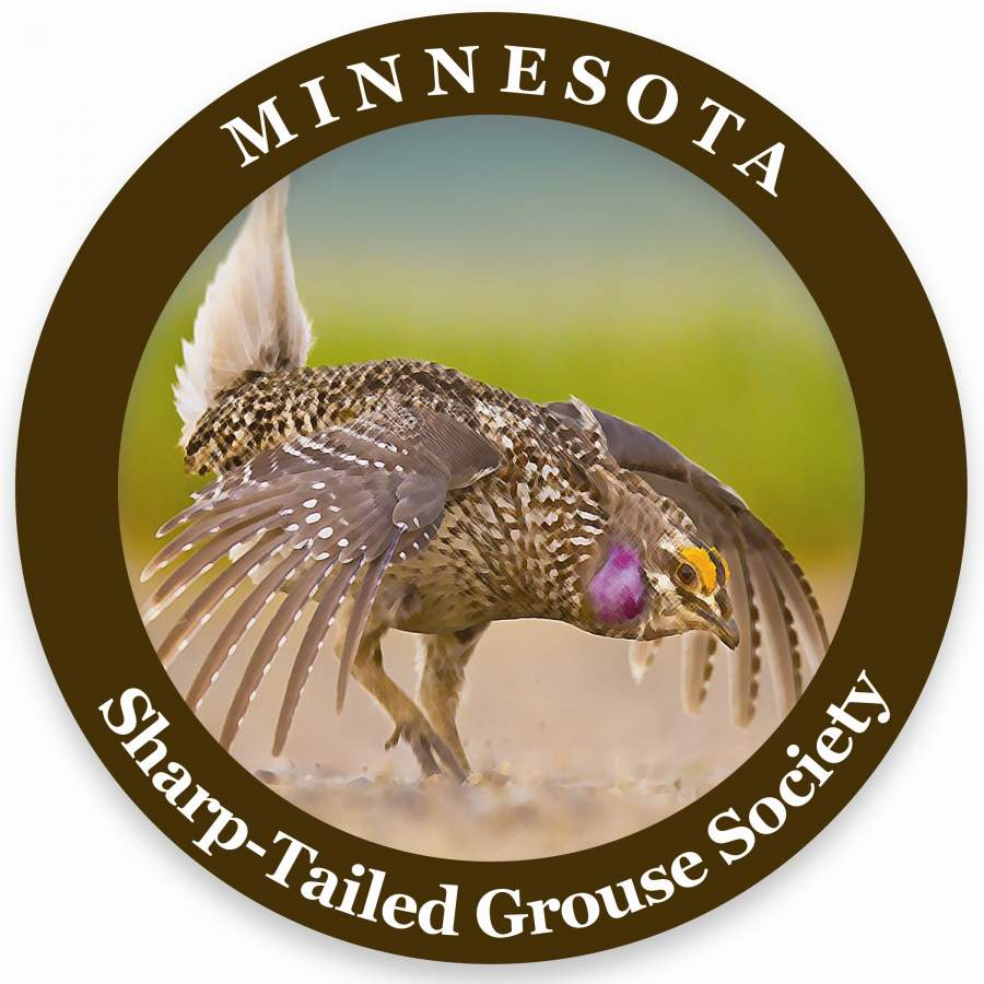 Minnesota Sharp-tailed Grouse Society logo