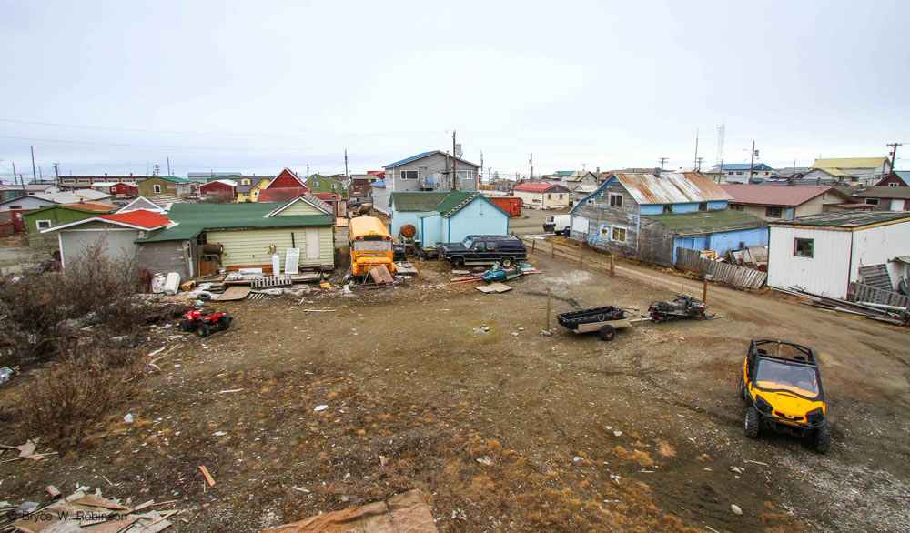 Nome, the illustrious village on the shore of the Bering Sea.