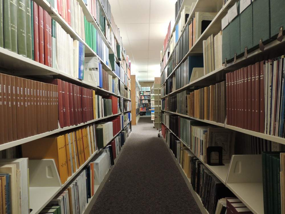 research library books